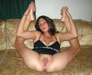 amateur photo Legs up, do jizz
