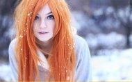 Snow blue eyes