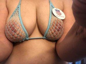 amateur photo Trying on my new bikini [f]