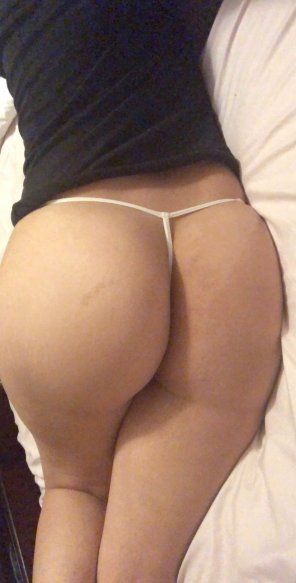 amateur photo Nice G string