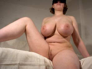 amateur photo Blindfolded