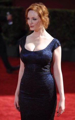 amateur photo Christina Hendricks.