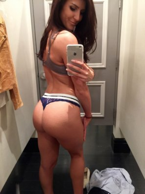 amateur photo Changing room selfie