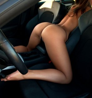 amateur photo Car ass