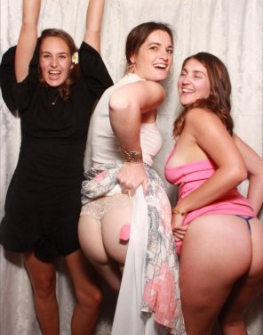 amateur photo Drunkest girls at the party