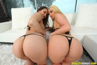 Dani Daniels and AJ Applegate