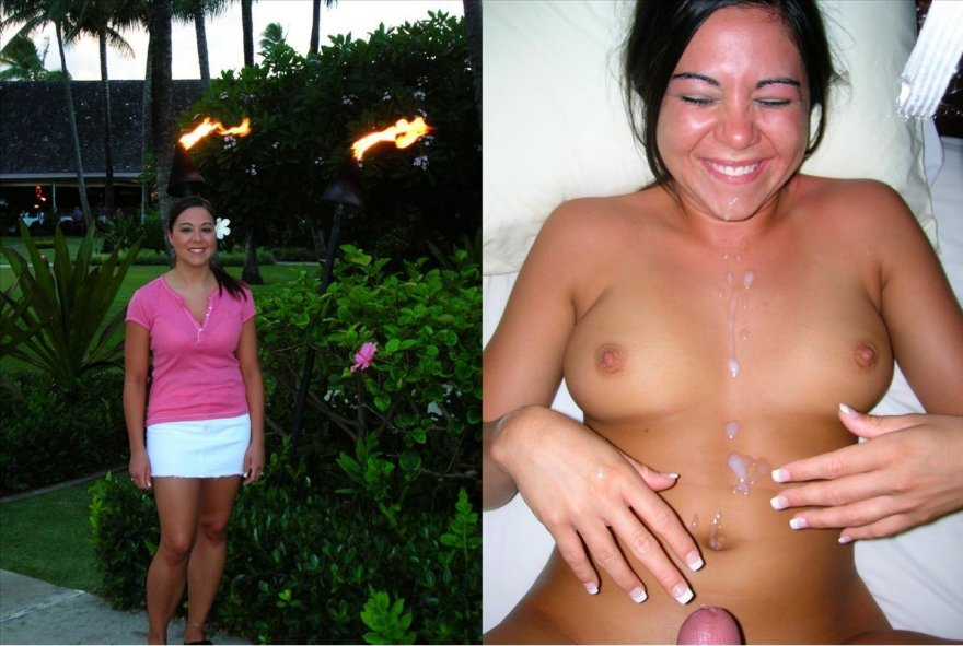 On/Off and a cumshot Porn Photo