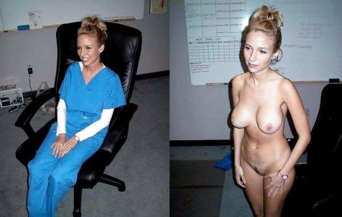 Army nurse nude video