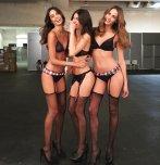 amateur photo Three models