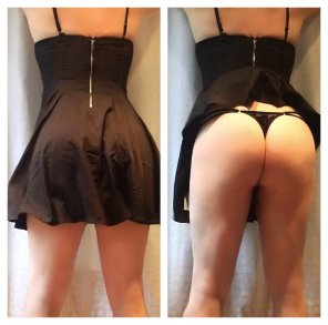 amateur photo My LBD on/off
