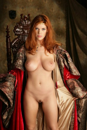 amateur photo Roxetta the redhead maiden