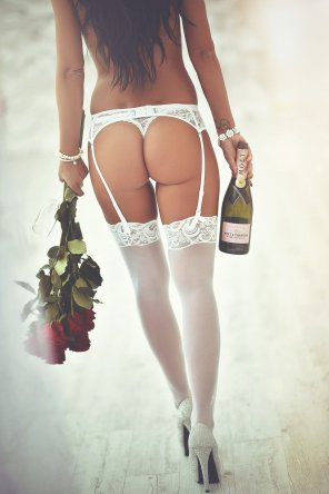 amateur photo Roses & Champagne