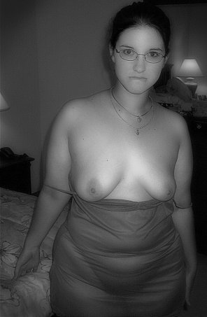 amateur photo Perky? Chubby? Glasses? Check, check, check!