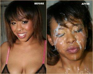 amateur photo Brooklyn Carter - Cumbang - Before & After