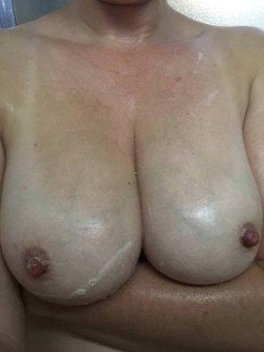 amateur photo Showered