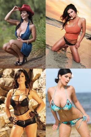 amateur photo Denise Milani: pick her outfit