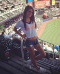 amateur photo Cute Mets fan