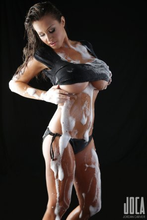 amateur photo Soapy Jordan Carver
