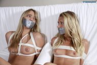Bound and Gagged Blondes