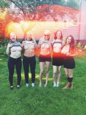 amateur photo Sorority Sisters
