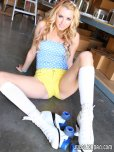 amateur photo Rollergirl Lexi Belle