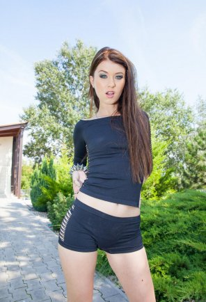 amateur photo Misha Cross