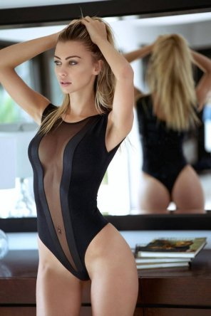 amateur photo Seethrough Leotard