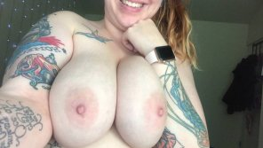 amateur photo IMAGE[Image] Showing off my tits & tats