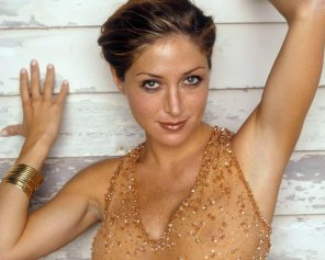 amateur photo Sasha Alexander