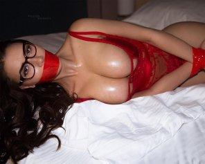 amateur photo Bondage night