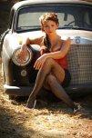 amateur photo A classic Benz