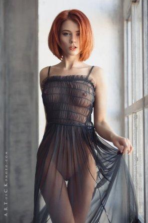 amateur photo Sheer dress