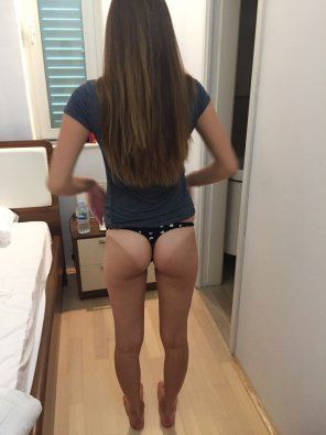 amateur photo Slim bottom