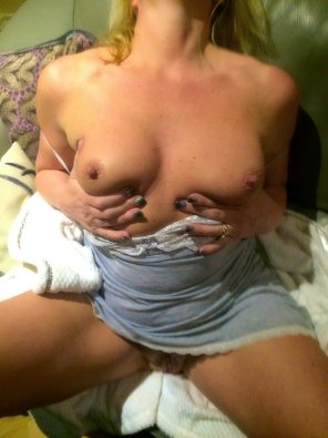 amateur photo Horny blonde loves BBC
