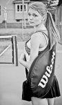 amateur photo Cute tennis girl