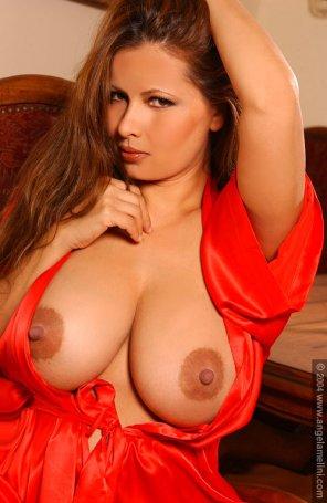 amateur photo Eurasian hotness Angela Melini