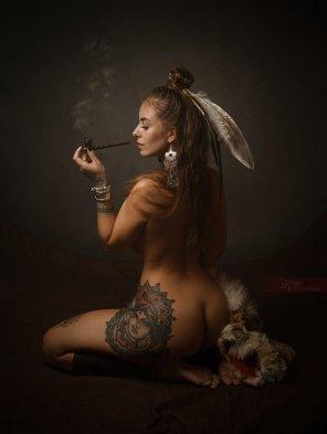 amateur photo Peace pipe