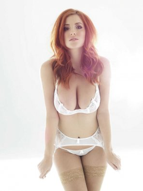 amateur photo Lucy Collett in lingerie