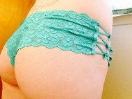 Love my new lacy panties!!