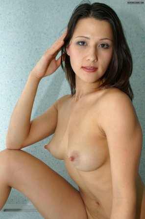 amateur photo Freckled amateur with delicious bullet nips