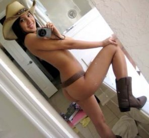 amateur photo Azn cowgirl, giggy up! 😉