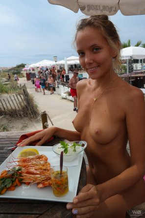 amateur photo Prawns and Boobies