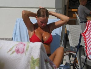 amateur photo Very pretty with an amazing rack