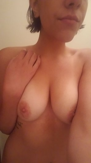 amateur photo Titties need a little love