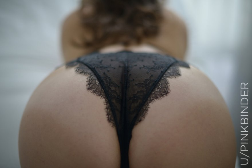 Lingerie Booty Porn Photo
