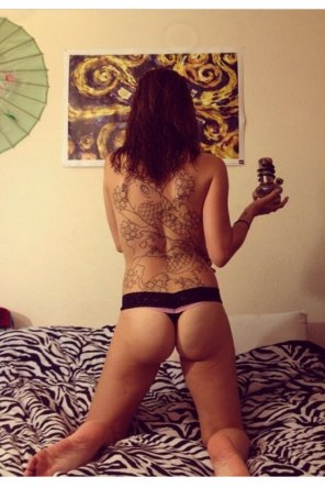 amateur photo Stoner girl