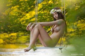 amateur photo Swing me softly