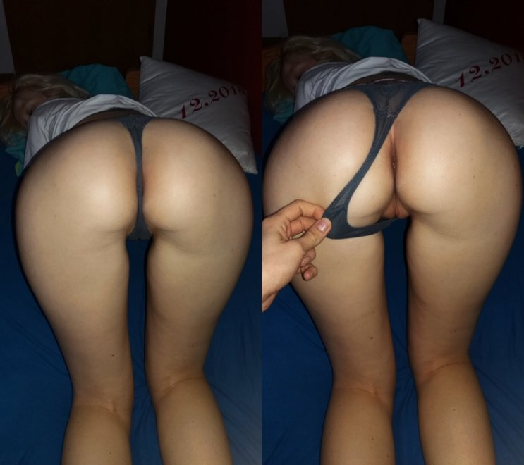 Thong - On/Off Porn Photo
