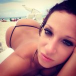 amateur photo Jada - Selfie on the beach