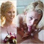 amateur photo Wedding night